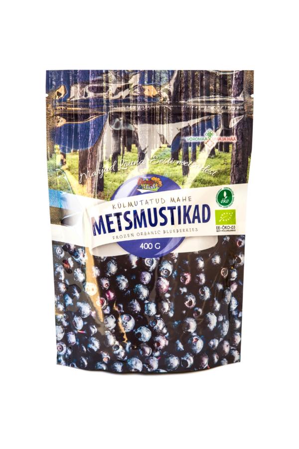 Frozen Organic Blueberries 400 grams