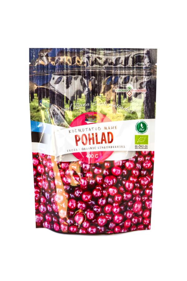 Organic Frozen Lingonberries 400 grams