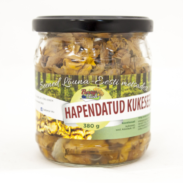 Fermented Chanterelles 380 grams