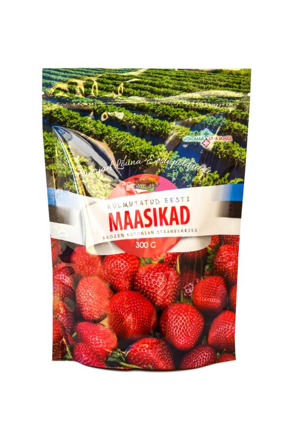 frozen estonian strawberries 300 grams
